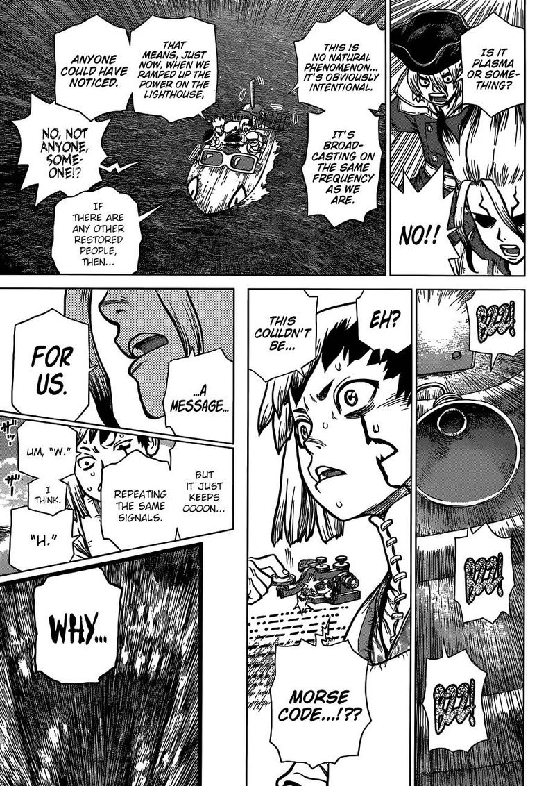 Dr. Stone : Chapter 95 - First Contact image 018