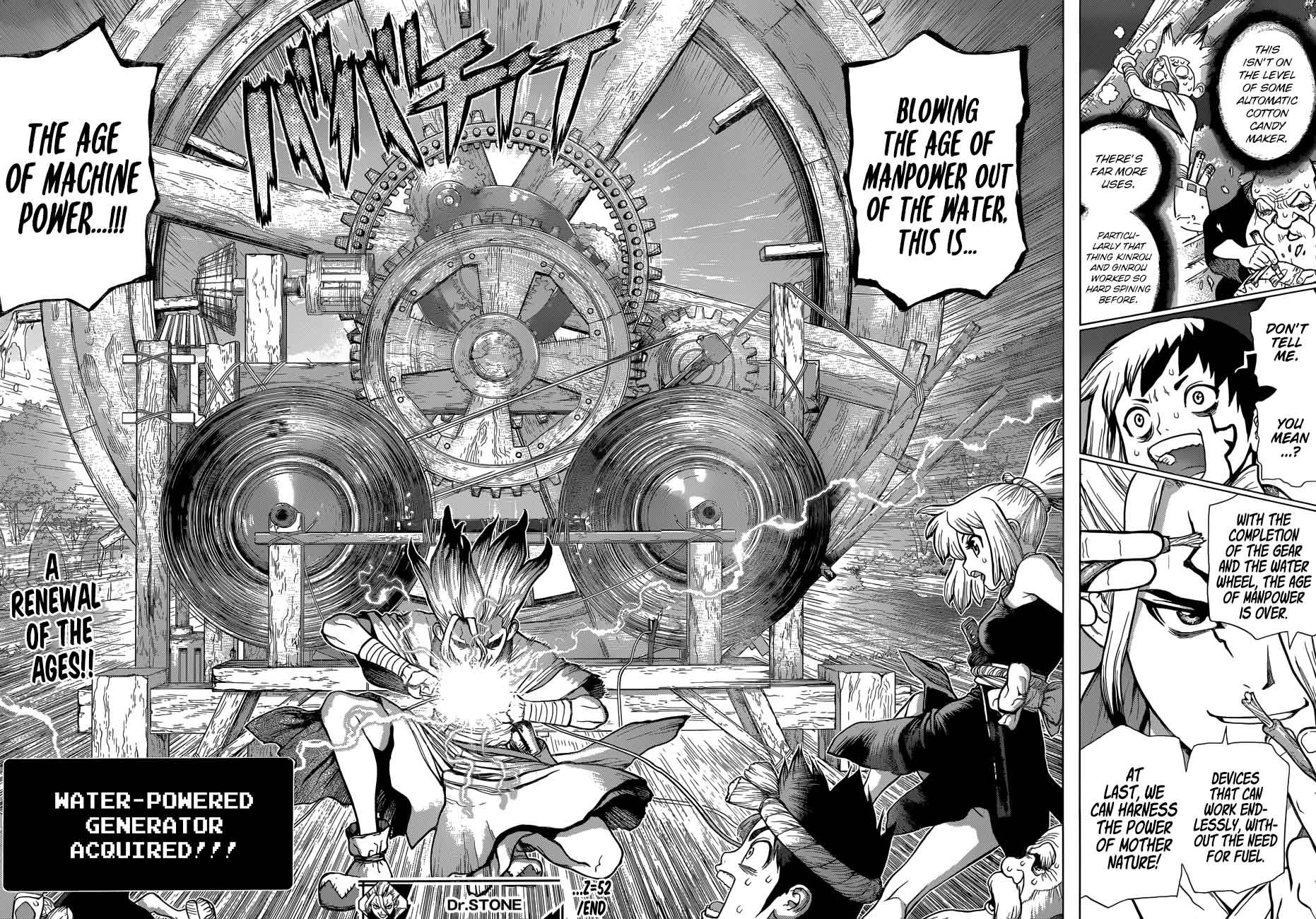 Dr. Stone : Chapter 52 - The Age of Machine Power image 018