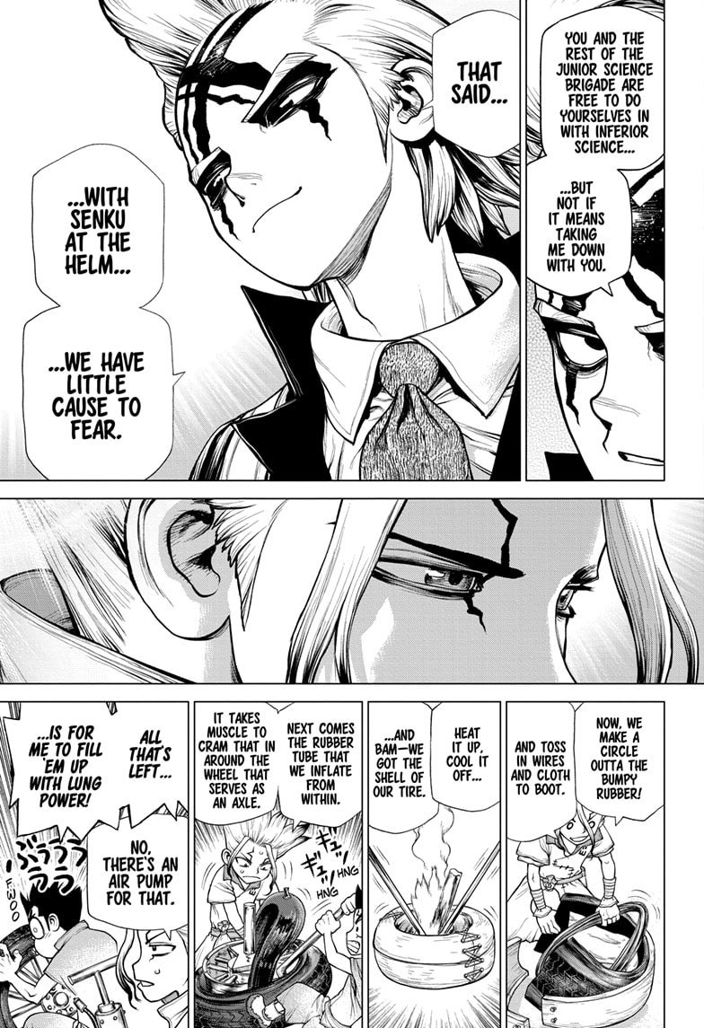 Dr. Stone, Chapter 175 image 005