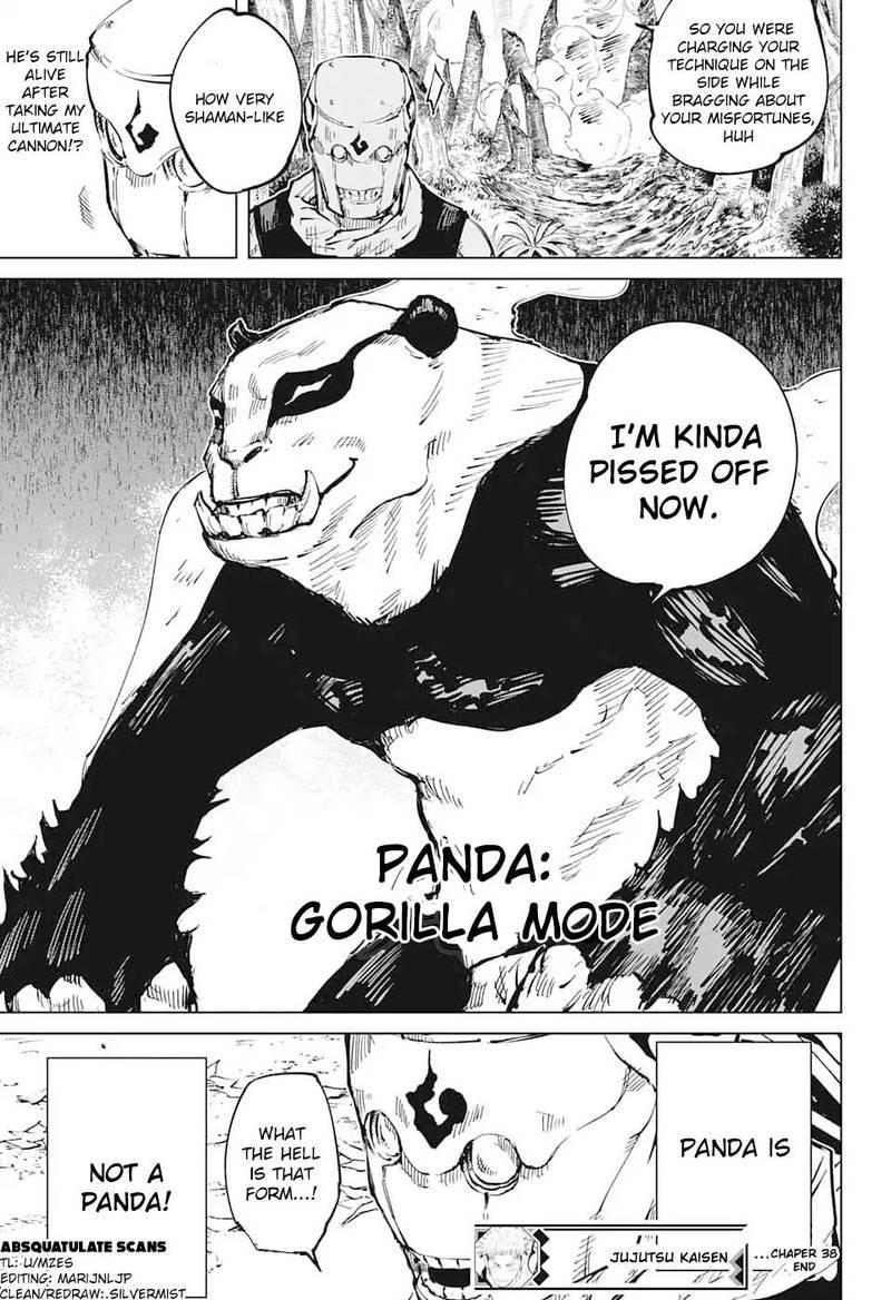 Jujutsu Kaisen, Chapter 38 image 018