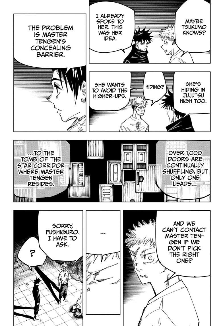 Jujutsu Kaisen, Chapter 144 image 005