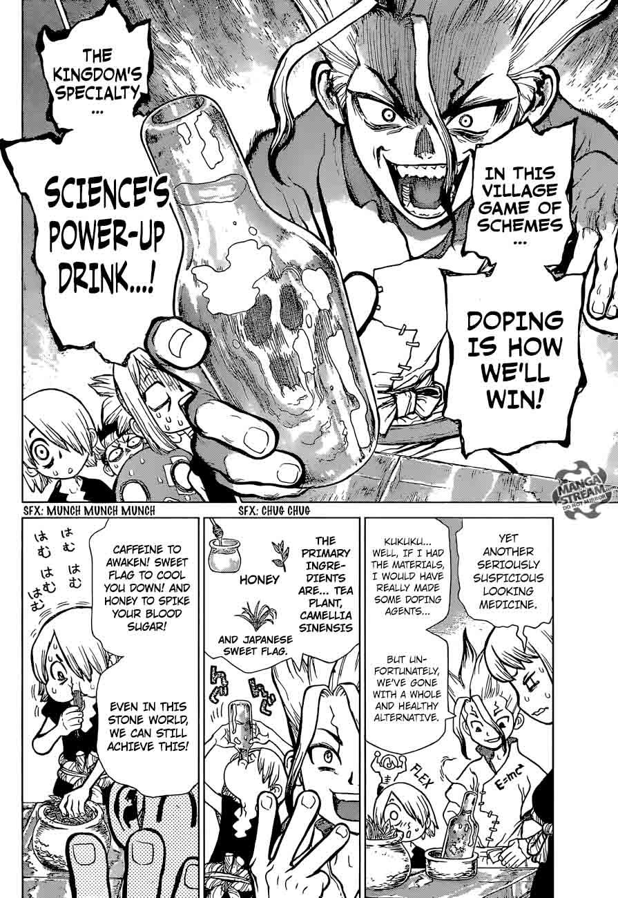 Dr. Stone : Chapter 34 - Village Games of Schemes image 011