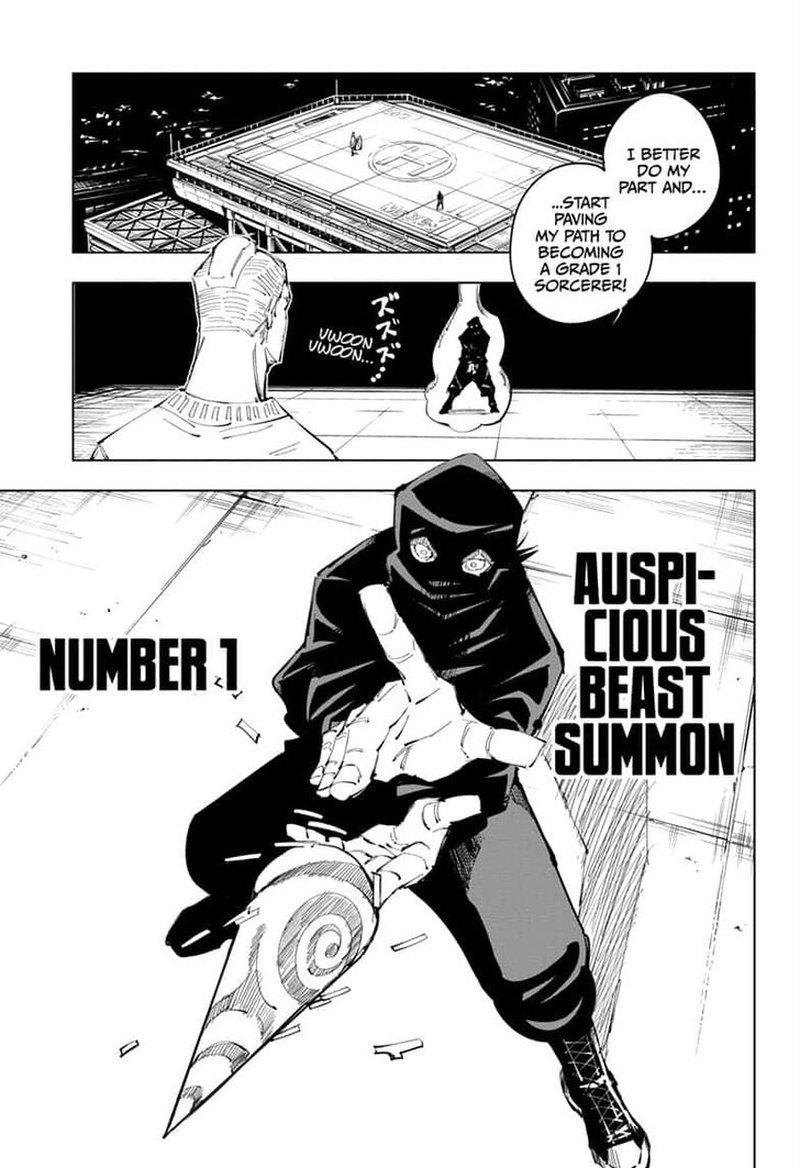 Jujutsu Kaisen, Chapter 95 image 003