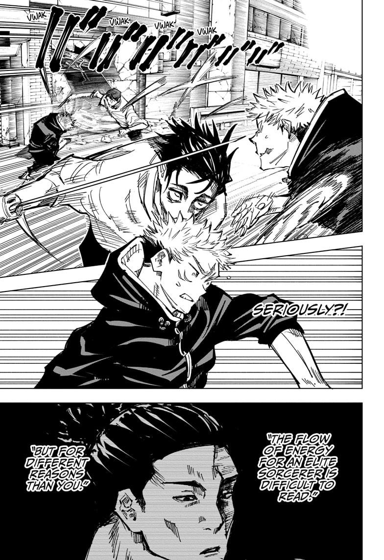 Jujutsu Kaisen, Chapter 140 image 017