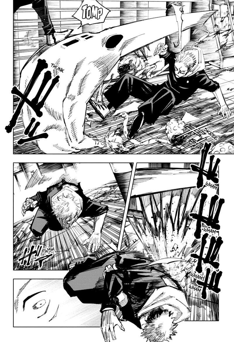 Jujutsu Kaisen, Chapter 121 image 002