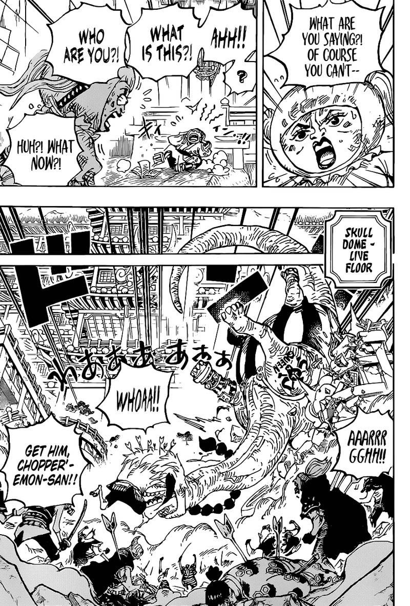 One Piece, Chapter 1014 image one_piece_1014_5