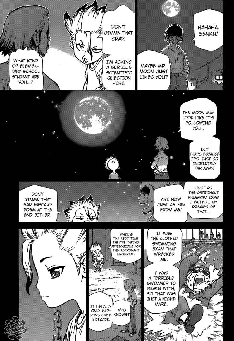 Dr. Stone : Chapter 42 - The story of millennia image 007