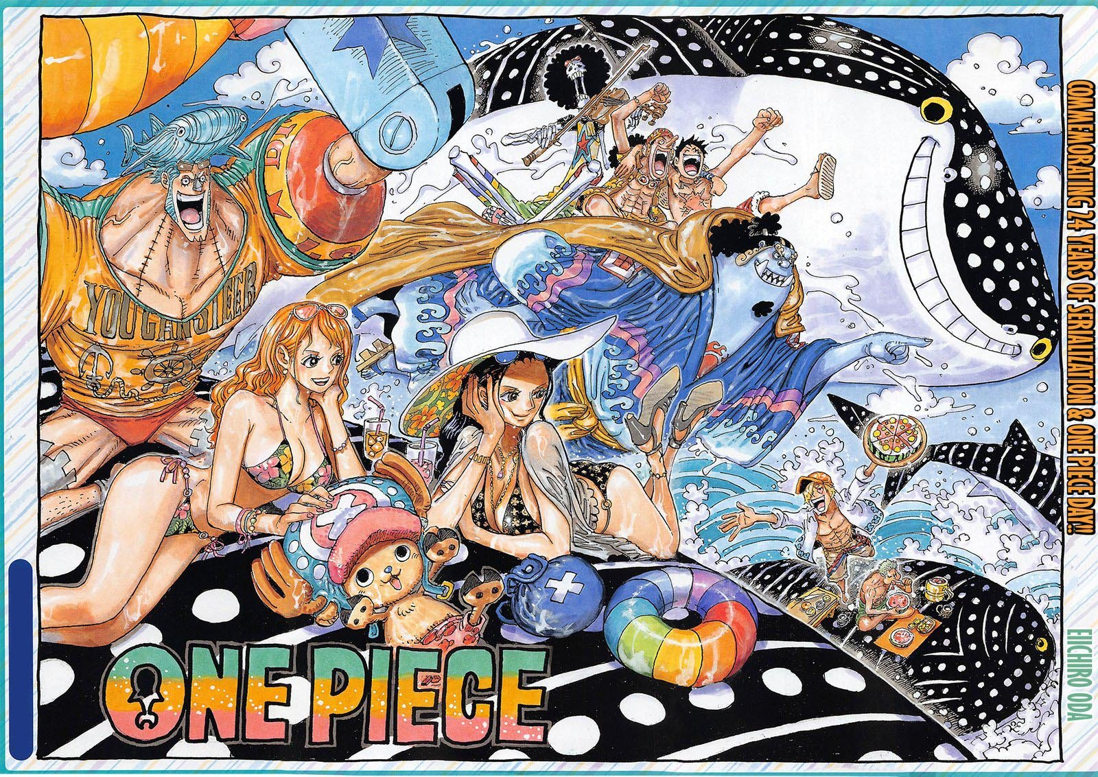 One Piece, Chapter 1019 image one_piece_1019_3