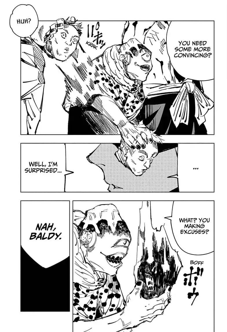 Jujutsu Kaisen, Chapter 84 image 017