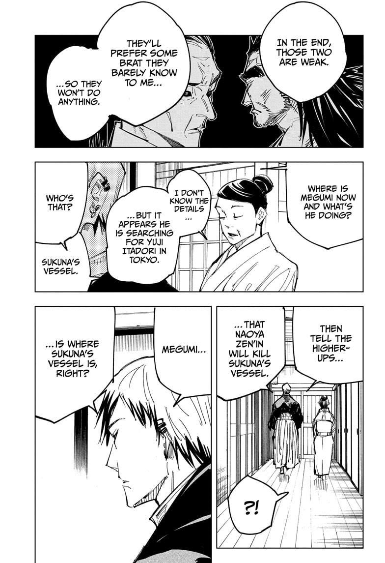 Jujutsu Kaisen, Chapter 138 image 011