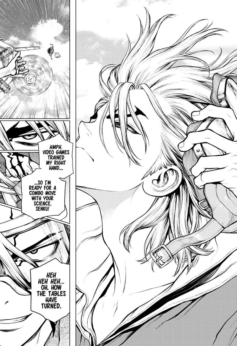 Dr. Stone : Chapter 164 - Re-Lock On image 016