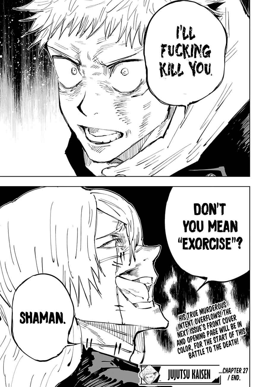 Jujutsu Kaisen, Chapter 27 image 018
