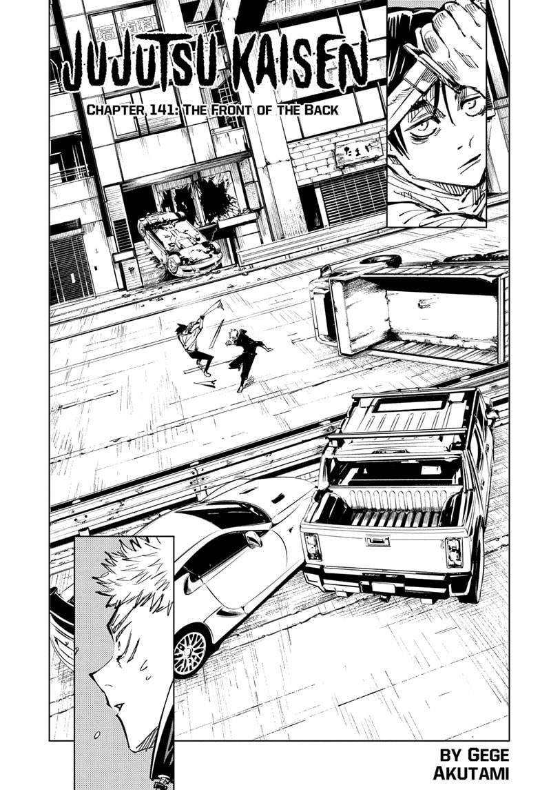 Jujutsu Kaisen, Chapter 141 image 001