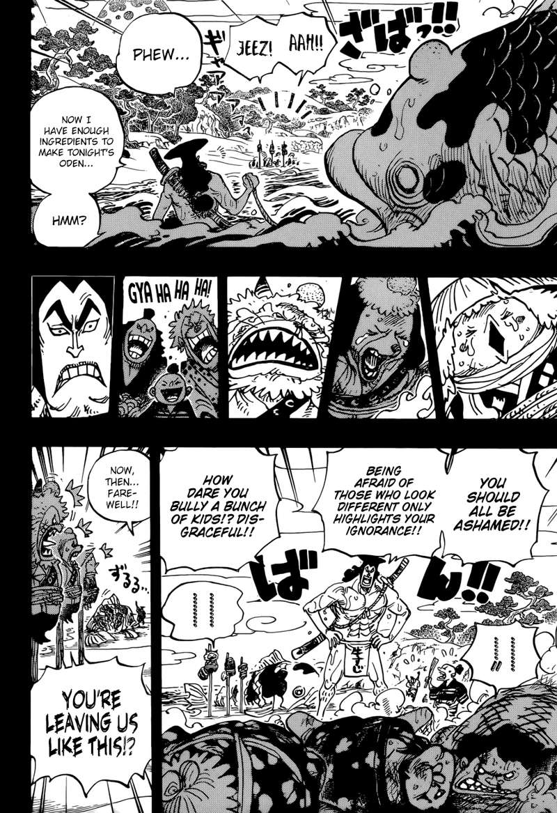 One Piece, Chapter 963 image 004