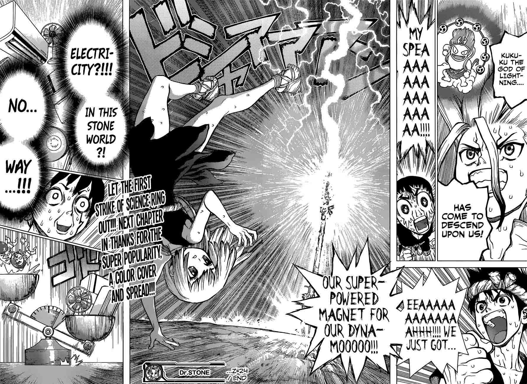 Dr. Stone : Chapter 24 - Lightning Speed image 018
