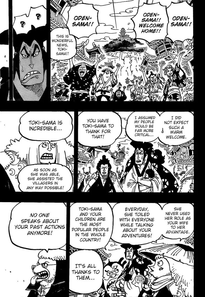 One Piece, Chapter 968 image 009