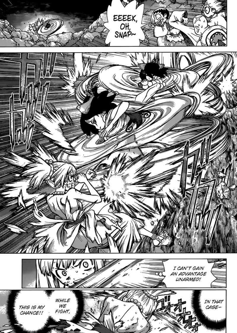 Dr. Stone : Chapter 107 - To the Trump Card Science Vessel image 013