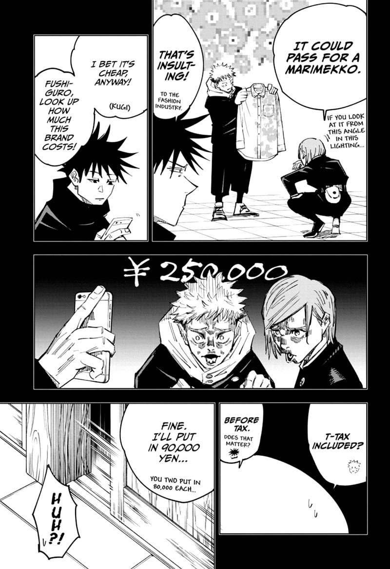 Jujutsu Kaisen, Chapter 126 image 003