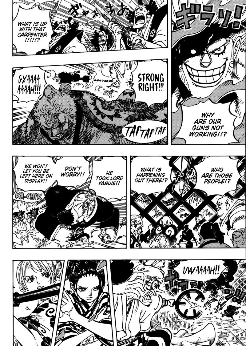 One Piece, Chapter 944 image 008