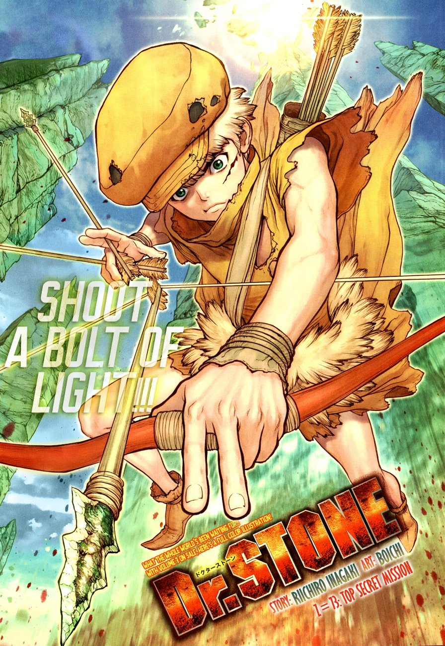 Dr. Stone : Chapter 73 image 001