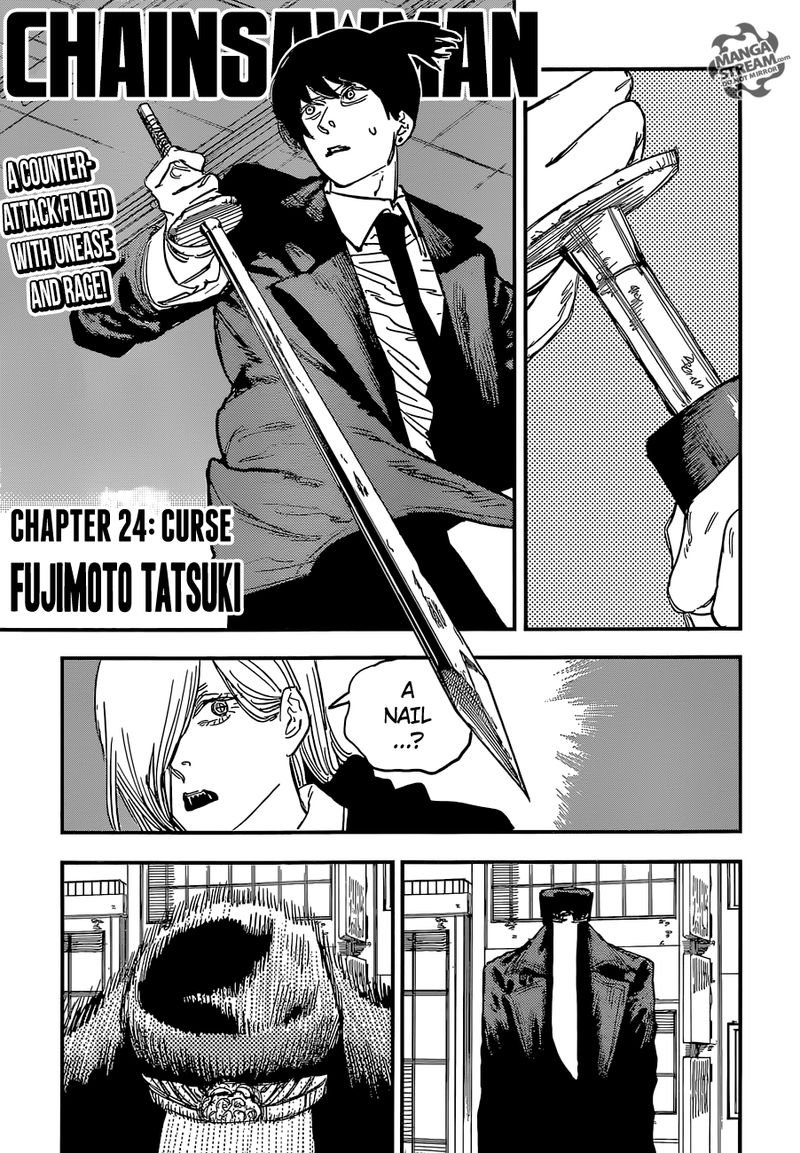 Chainsaw Man, Chapter 24 - Curse image 001