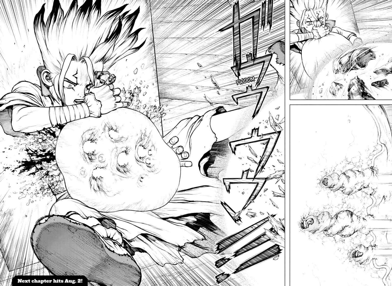Dr. Stone : Chapter 159 - Lock On image 016