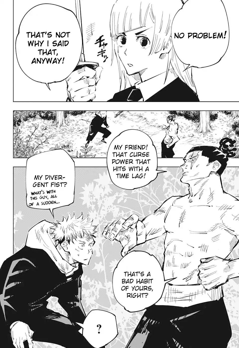 Jujutsu Kaisen, Chapter 36 image 018