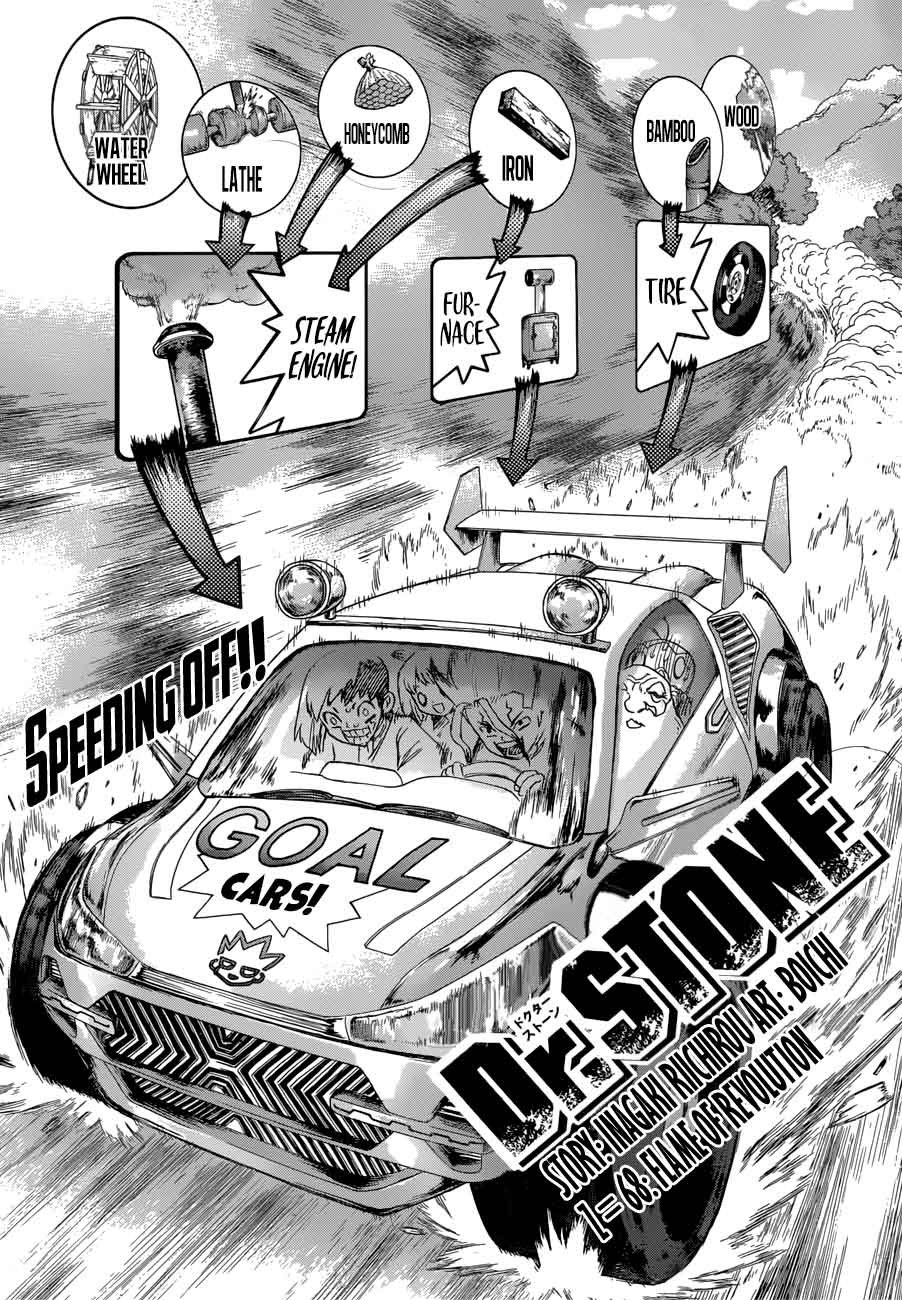 Dr. Stone : Chapter 68 - Flame of Revolution image 001