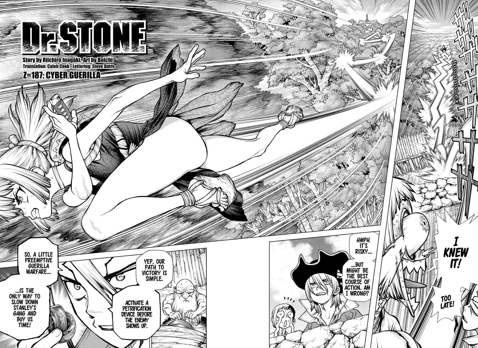 Dr. Stone, Chapter 187 image 002