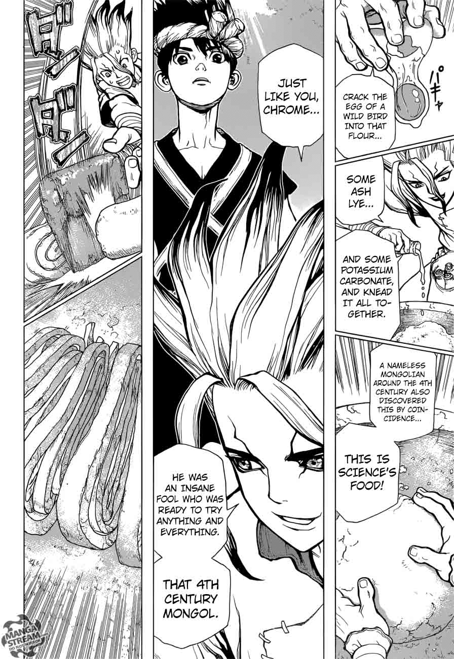 Dr. Stone : Chapter 22 - Survival Gourmet image 014