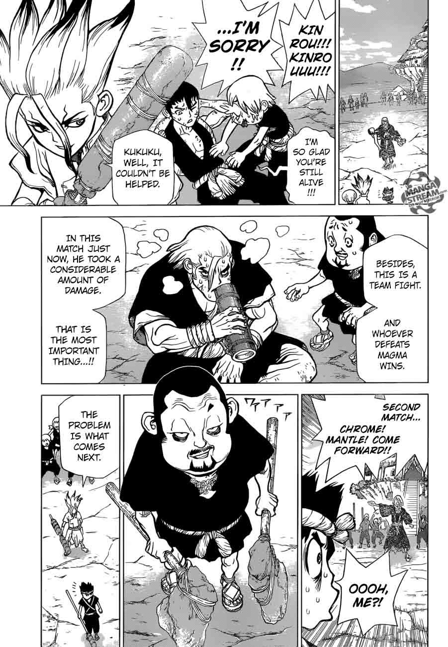 Dr. Stone : Chapter 36 - Kinrou and Ginrou image 007