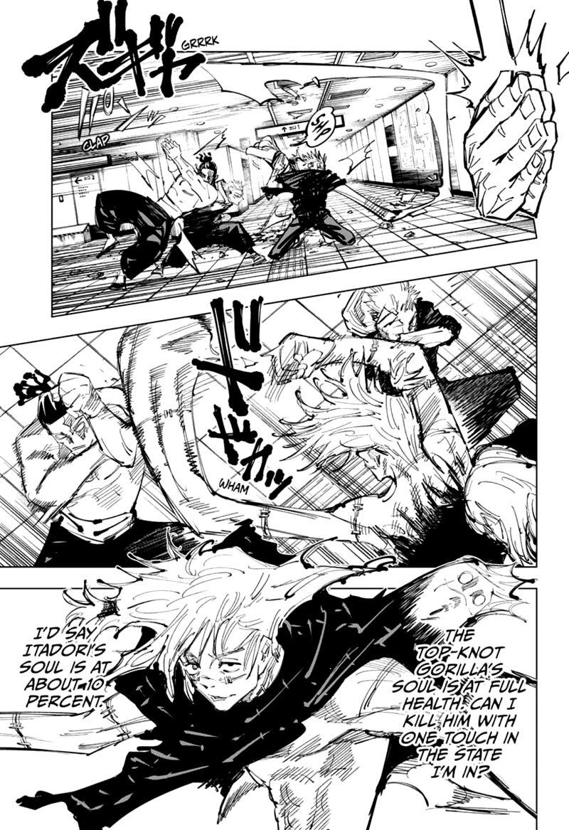 Jujutsu Kaisen, Chapter 128 image 009