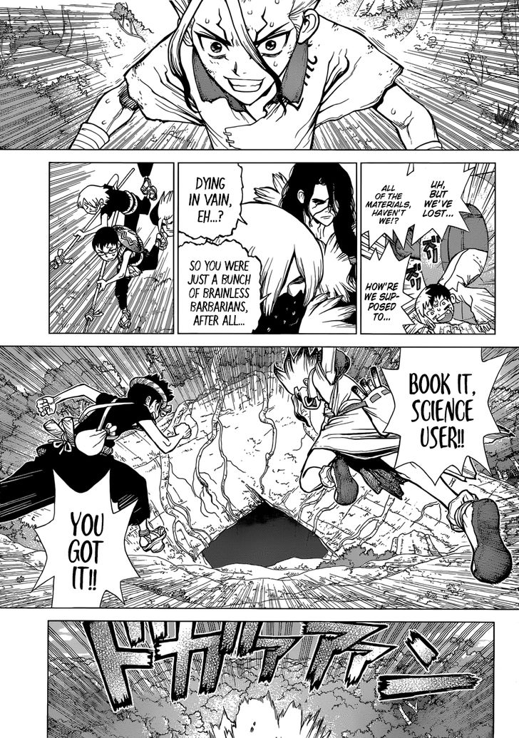 Dr. Stone : Chapter 76 image 015