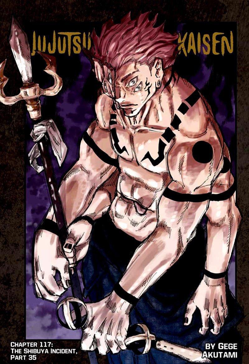 Jujutsu Kaisen, Chapter 117 image 001
