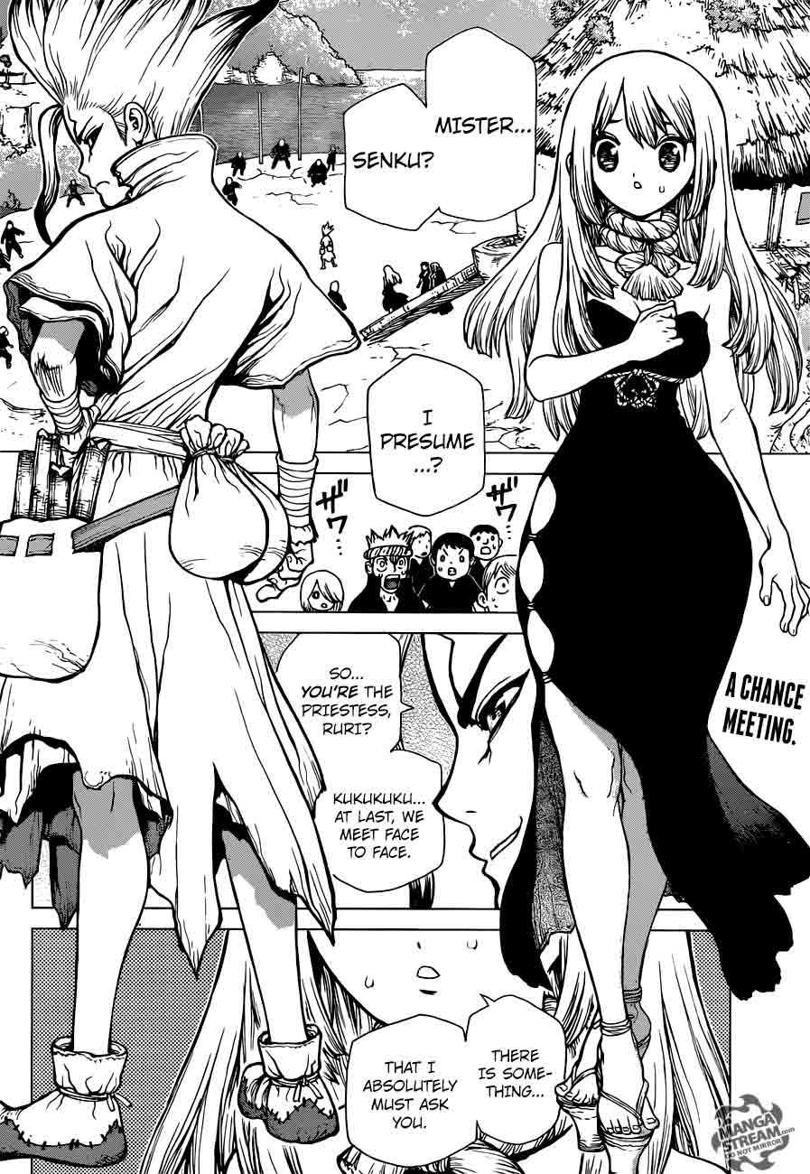 Dr. Stone : Chapter 34 - Village Games of Schemes image 003