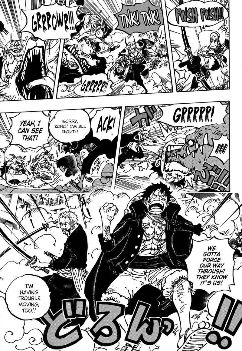 One Piece, Chapter 980 image 015