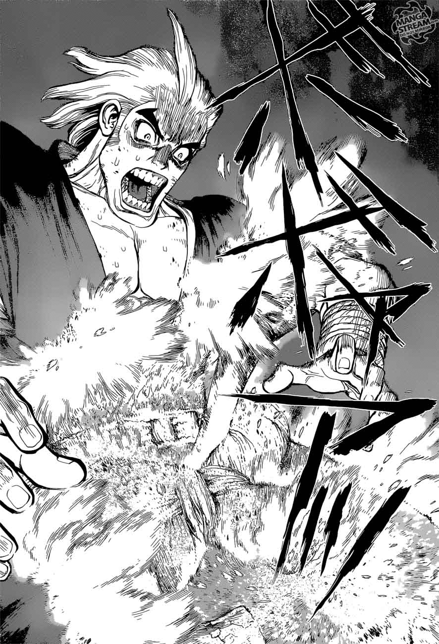 Dr. Stone : Chapter 38 - Master of Flame image 017