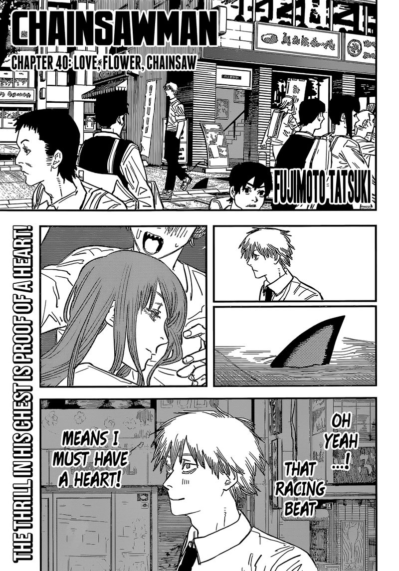 Chainsaw Man, Chapter 40 - Love, Flower, Chainsaw image 001