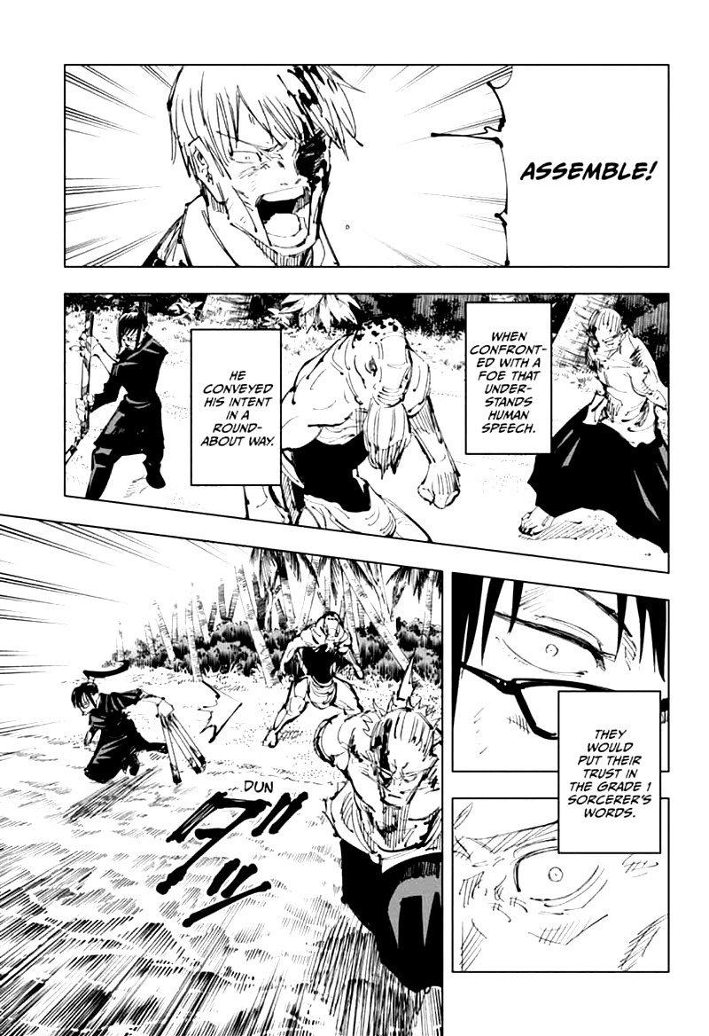 Jujutsu Kaisen, Chapter 109 image 015