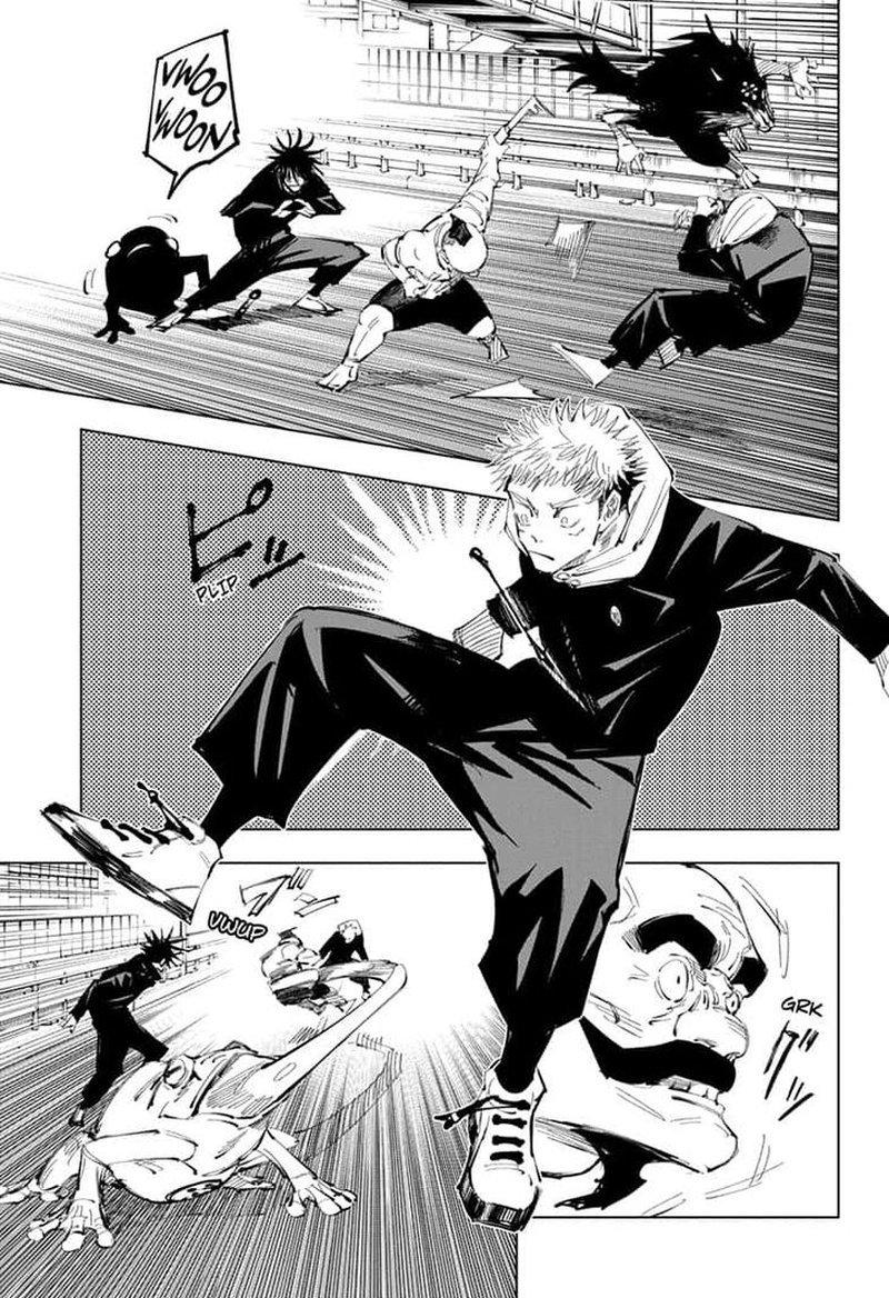 Jujutsu Kaisen, Chapter 95 image 011