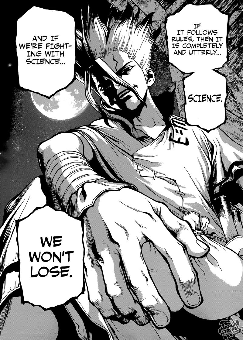 Dr. Stone : Chapter 106 - The Secret of the Petrification image 015