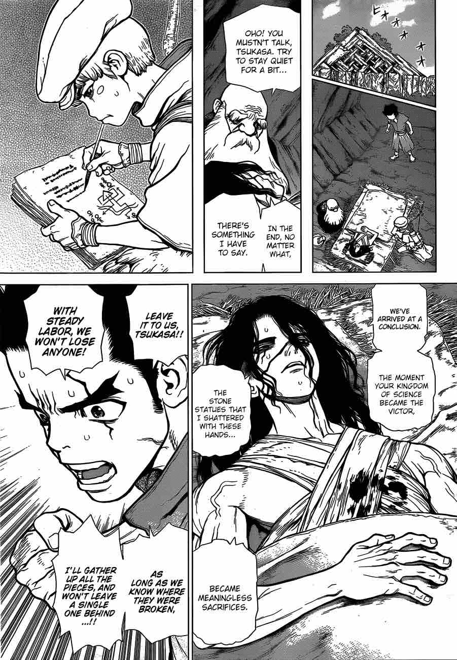 Dr. Stone : Chapter 82 - Epilogue of The Stone Wars image 012