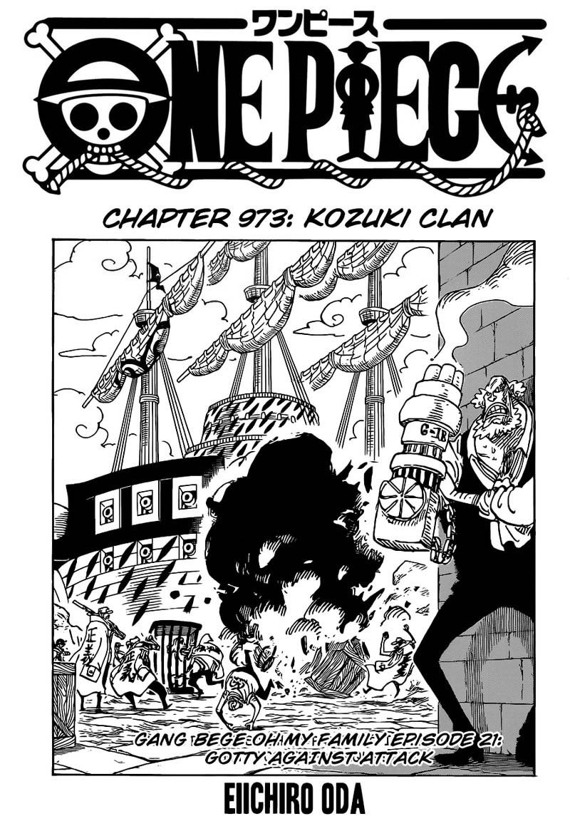 One Piece, Chapter 973 image 001
