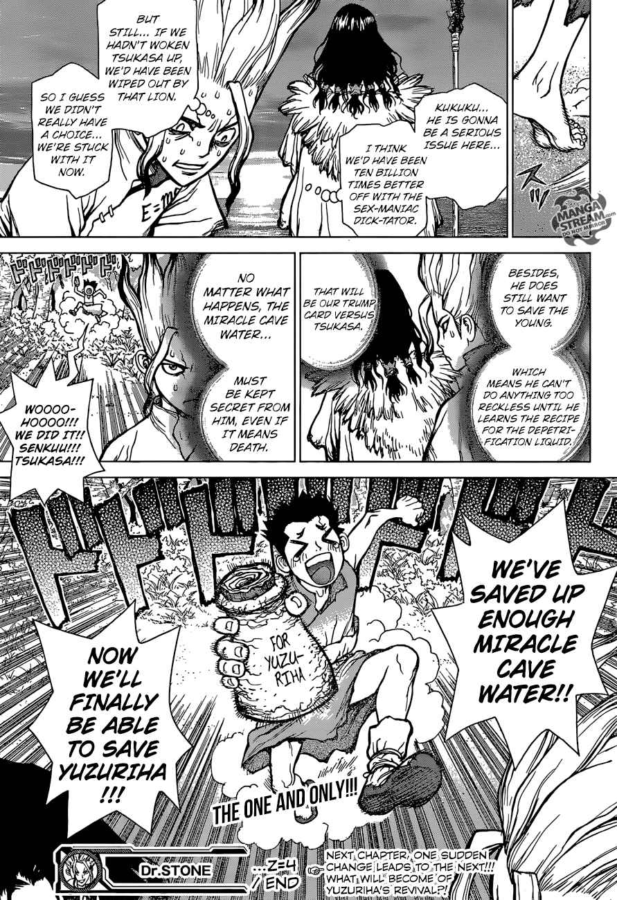 Dr. Stone : Chapter 4 - Pure white shell image 017