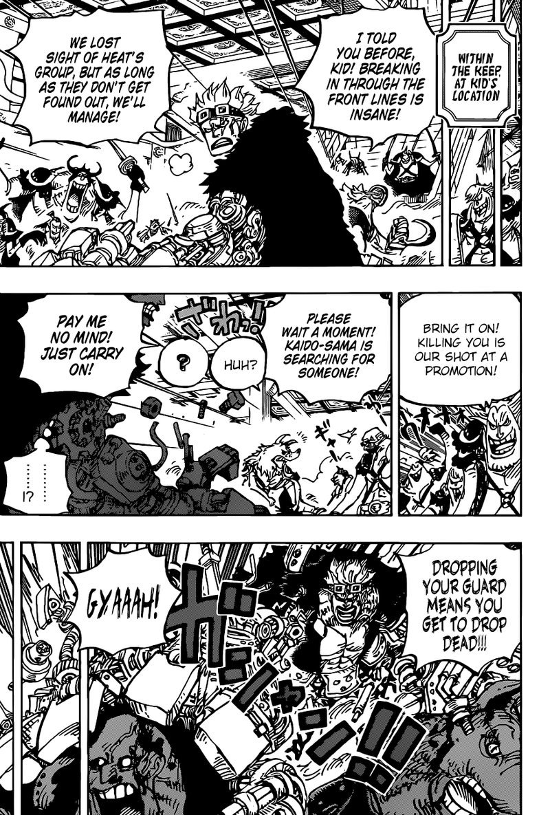 One Piece, Chapter 983 image 007