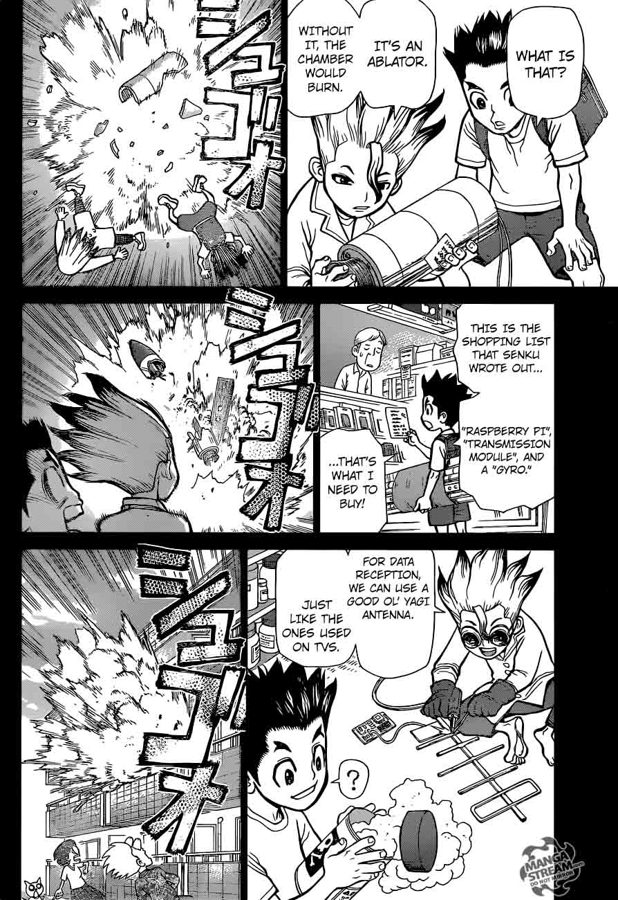 Dr. Stone : Chapter 10 - The Science Crew image 007