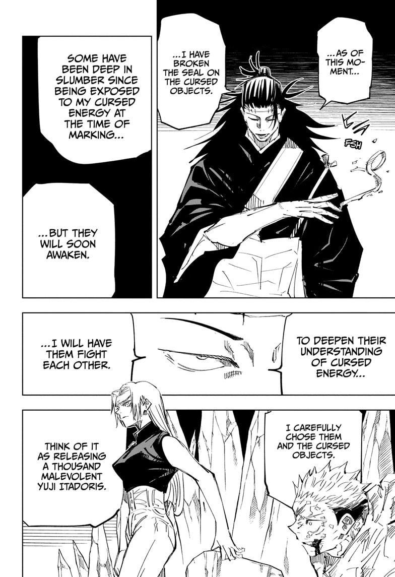 Jujutsu Kaisen, Chapter 136 image 012