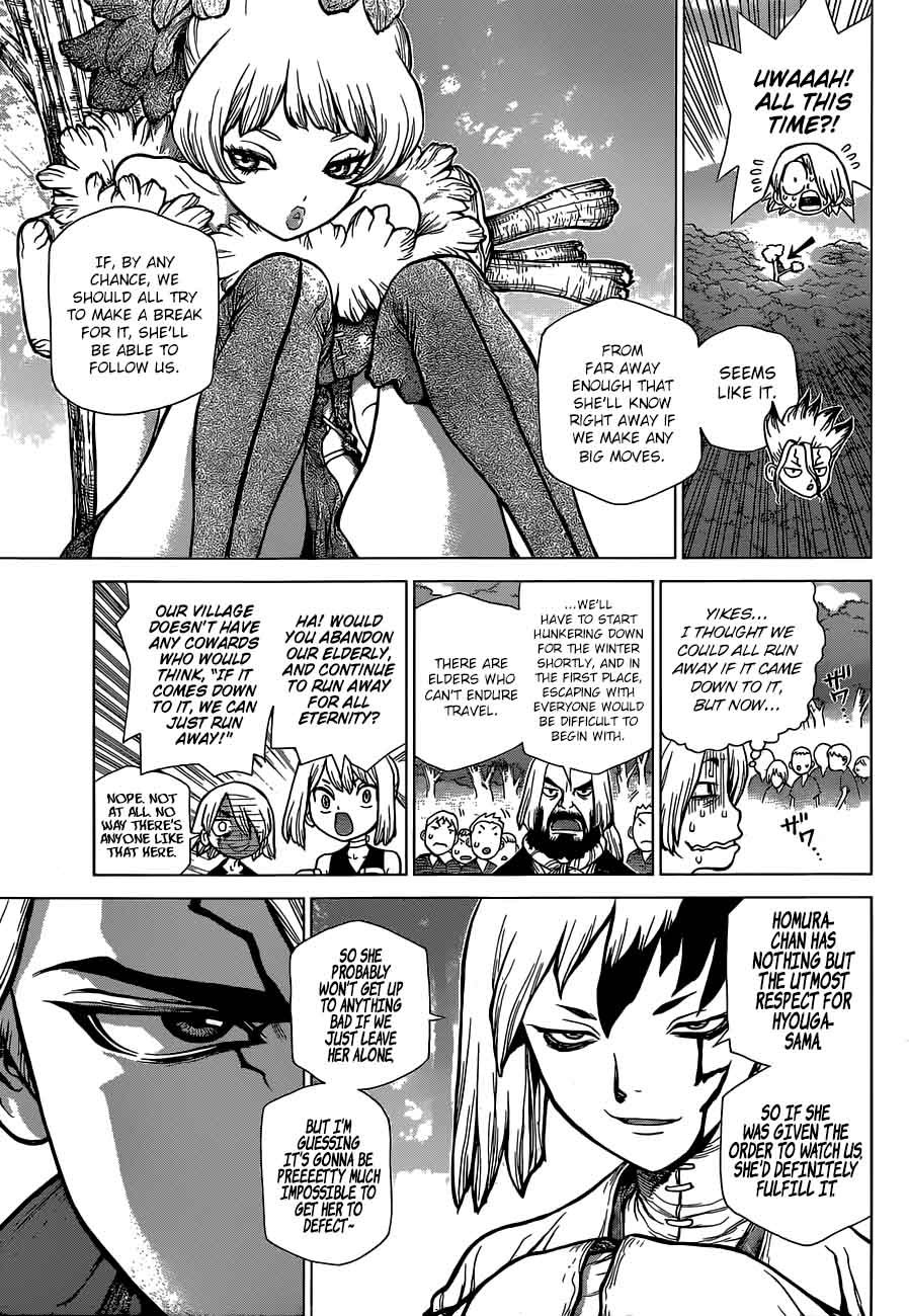 Dr. Stone : Chapter 51 - Sweet in the Stone World image 014