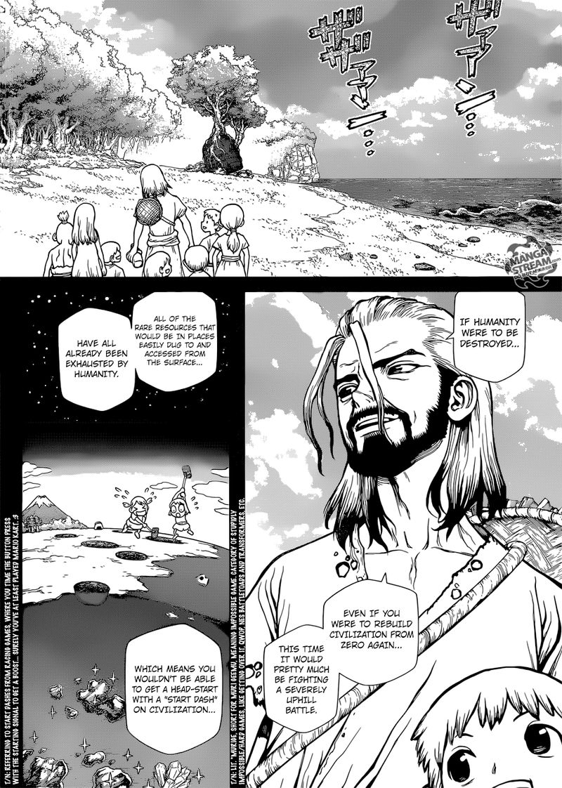 Dr. Stone : Chapter 115 - One second and one grain image 010