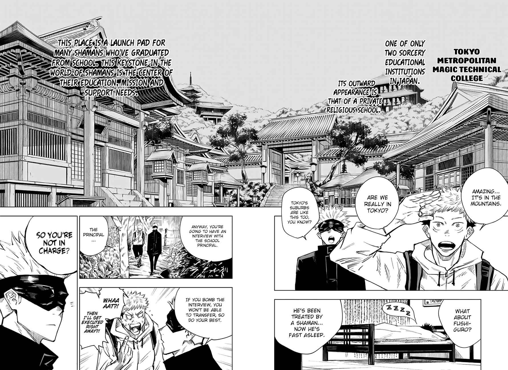 Jujutsu Kaisen, Chapter 3 image 002